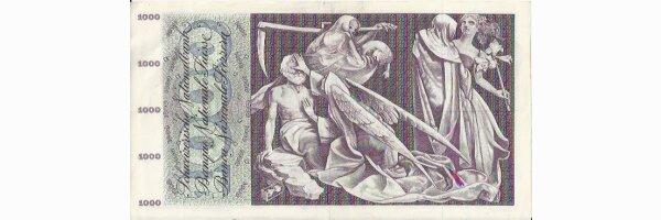 1000 Fr. Note Totentanz