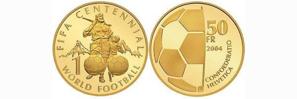 50 Franken Goldmünzen ab 2001 bis heute
