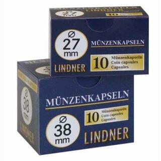 Münzenkapseln Ø 26 mm (10er Pack)