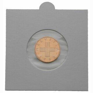 Münzenrähmchen  Ø 15 mm Hartberger (100er Pack)