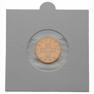 Münzenrähmchen  Ø 53 mm Hartberger (25er Pack)