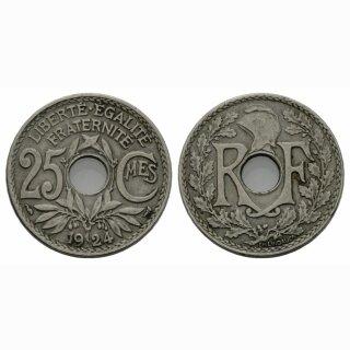 Frankreich 25 Centimes 1924