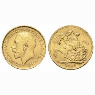 England Sovereign 1913 Geroges V