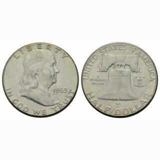 USA 1/2 Dollar 1963 Franklin