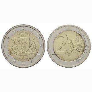 Litauen 2 Euro 2021 Region Dzükija