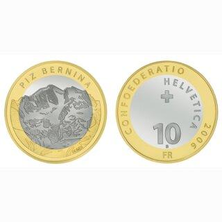 Schweiz 10 Franken 2006 B Piz Bernina