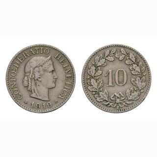 10 Rappen 1919 Schweiz
