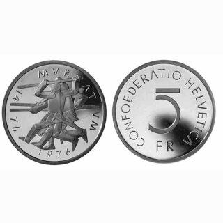 Schweiz 5 Franken 1976 B Murten