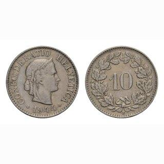 10 Rappen 1944 Schweiz