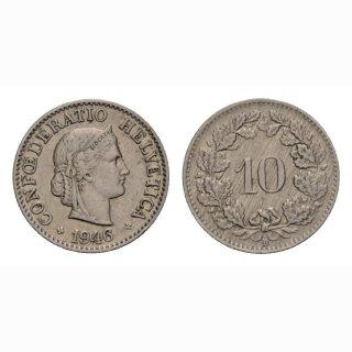 10 Rappen 1946 Schweiz