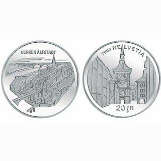 Schweiz 20 Franken 2003 B Bener Altstadt