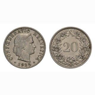 20 Rappne 1925 Schweiz