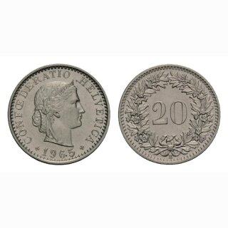20 Rappen 1965 Schweiz