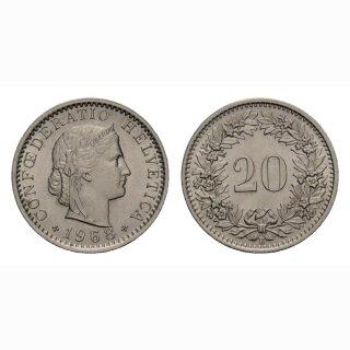 20 Rappen 1968 Schweiz