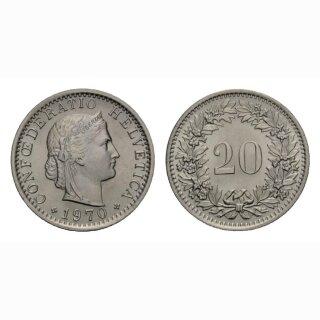 20 Rappen 1970 Schweiz
