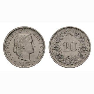 20 Rappen 1971 Schweiz