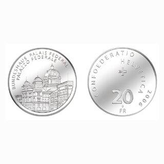 Schweiz 20 Franken 2006 B Bundeshaus