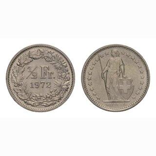 50 Rappen 1972 Schweiz