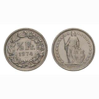 50 Rappen 1974 Schweiz
