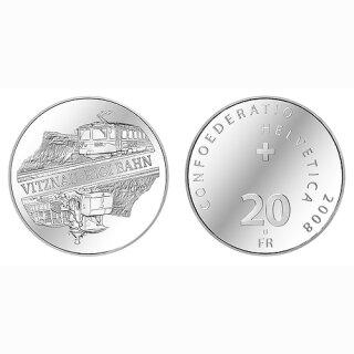 Schweiz 20 Franken 2008 B Vitznau Rigi Bahn