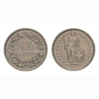 50 Rappen 1976 Schweiz