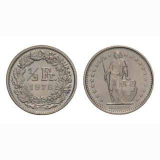 50 Rappen 1978 Schweiz