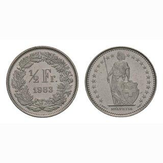 50 Rappen 1983 Schweiz