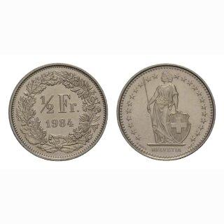 50 Rappen 1984 Schweiz