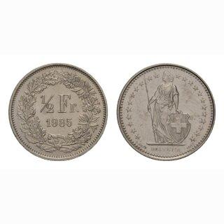50 Rappen 1985 Schweiz