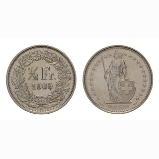 50 Rappen 1989 Schweiz