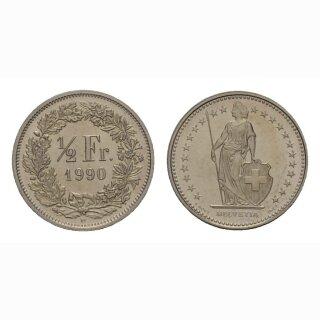 50 Rappen 1990 Schweiz