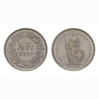 50 Rappen 1993 Schweiz
