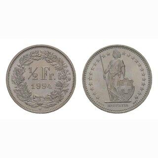 50 Rappen 1994 Schweiz