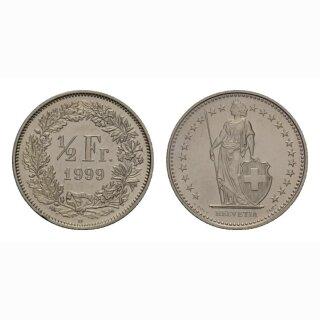50 Rappen 1999 Schweiz