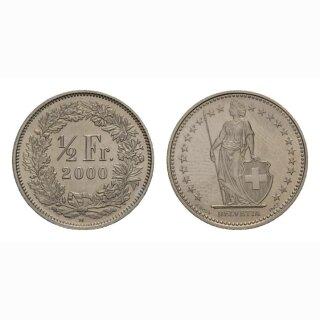 50 Rappen 2000 Schweiz