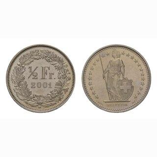 50 Rappen 2001 Schweiz