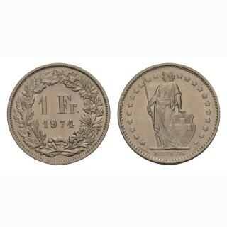 1 Franken 1974 Schweiz