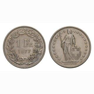 1 Franken 1977 Schweiz