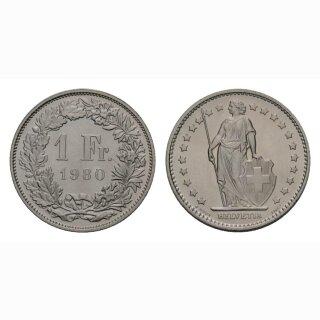 1 Franken 1980 Schweiz