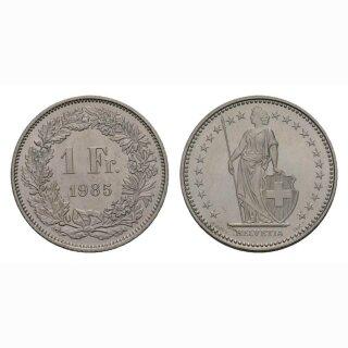 1 Franken 1985 Schweiz