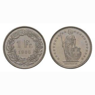 1 Franken 1986 Schweiz
