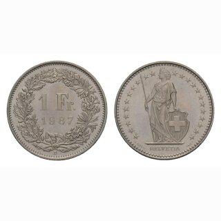 1 Franken 1987 Schweiz