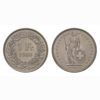 1 Franken 1989 Schweiz