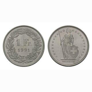 1 Franken 1991 Schweiz