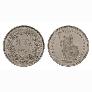 1 Franken 1994 Schweiz