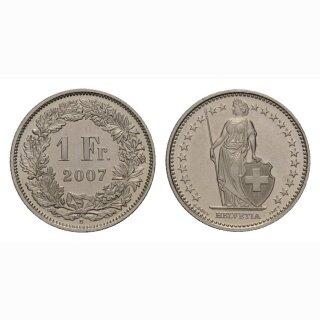 1 Franken 2007 Schweiz