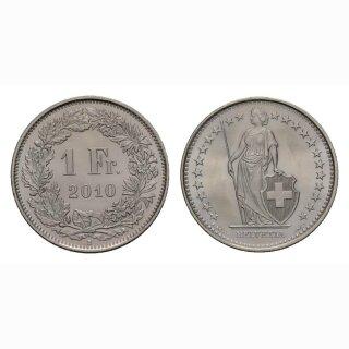 1 Franken 2010 Schweiz