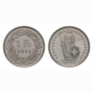 1 Franken 2011 Schweiz