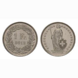 1 Franken 2012 Schweiz