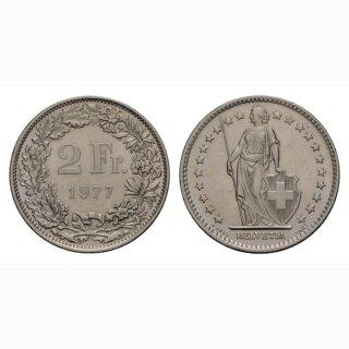 2 Franken 1977 Schweiz